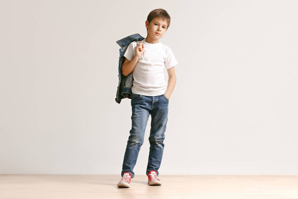 Is your son interested in boys modeling?